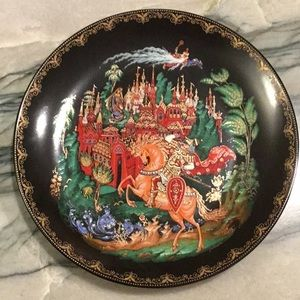 Ruslan and Ludmilla Russian Legends Plate